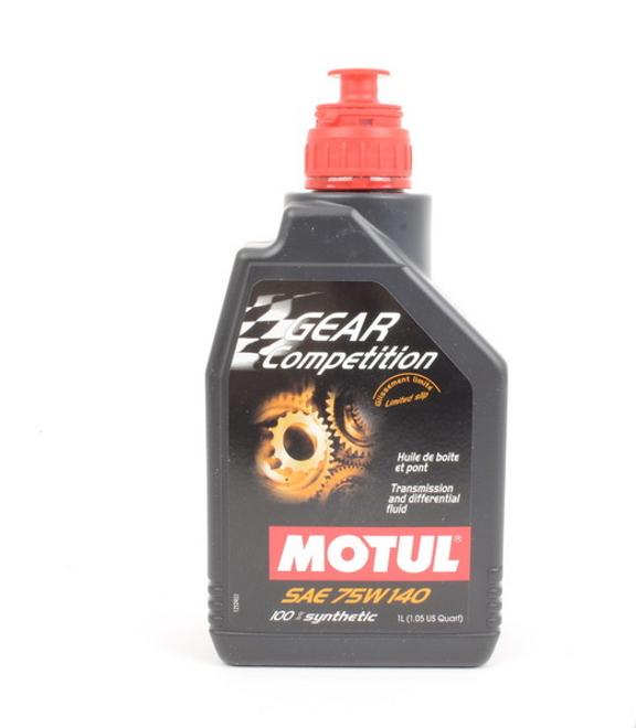 Motul Gear Competition FF Gearbox & LSD Oil: 75W140