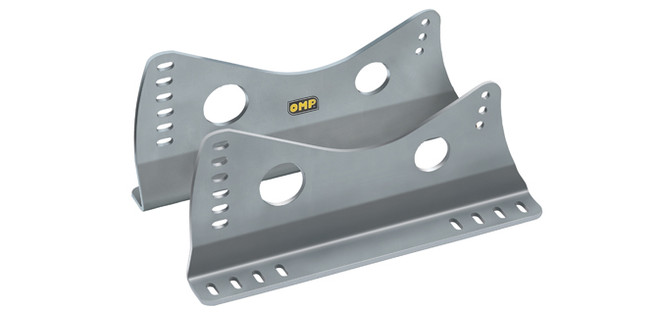 OMP Aluminum Tall Side Mount Seat Brackets