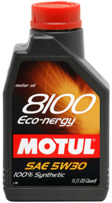 Motul 8100 Eco-Nergy 5w30 100% Synthetic Engine Oil