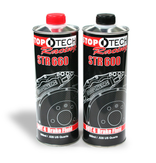 StopTech Racing STR 600 High Performance Brake Fluid - Dot 4
