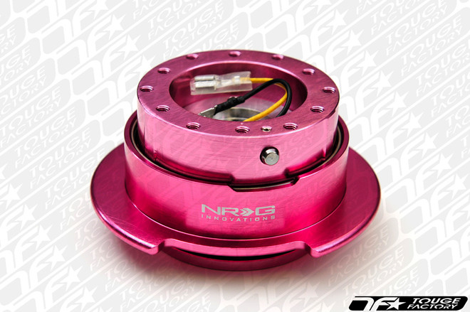 NRG Quick Release Kit Gen 2.5 - Pink Body/Pink Ring