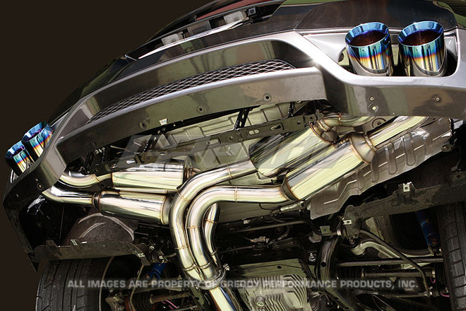 GReddy Power Extreme-R Exhaust (90mm) - Nissan R35 GTR