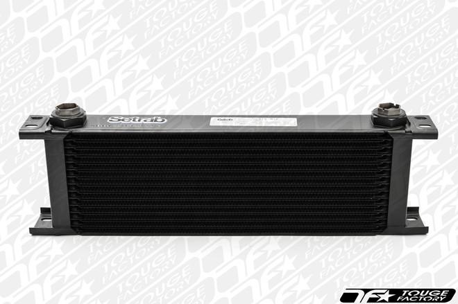 "Setrab 15 Row Oil Cooler - 9 Series (4.50"" tall)"