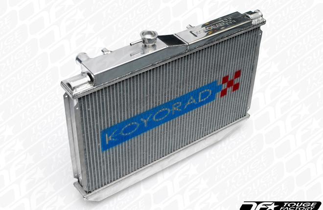 Koyo Aluminum V-Core Racing Radiator - 04-08 Mazda RX-8 1.3L (MT)