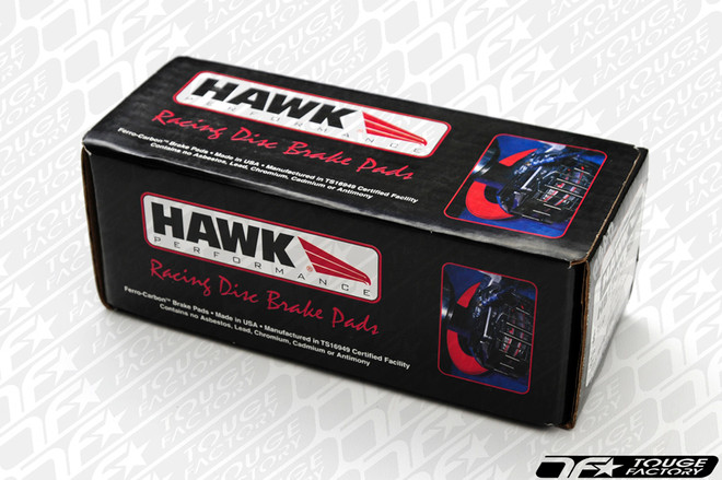 Hawk HP Plus Mitsubishi Evo 7 8 9 X - Front Brake Pads