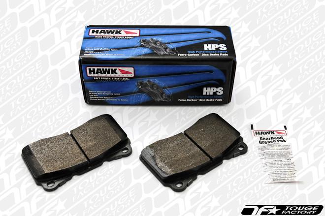 Hawk HPS Performance Street: Subaru WRX STI 2004+ - Rear Brake Pads