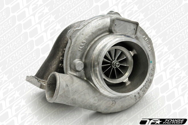 """Garrett GTX3582R Turbo: Dual BB T3 Inlet with 3"""" GT V-Band Discharge Divided Twin Scroll"""