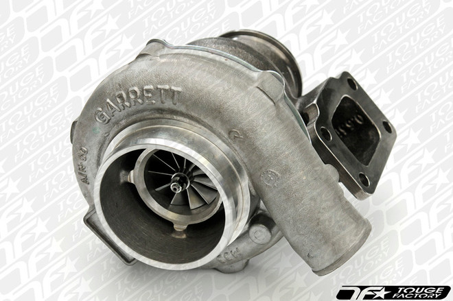 """Garrett GTX3582R Turbo: Dual BB T3 Inlet with 3"""" GT V-Band Discharge Undivided Single Scroll"""