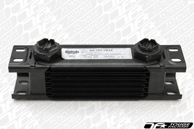 """Setrab 16 Row Oil Cooler - 1 Series (4.75"""" tall) Power Steering / Diff / Gearbox"""