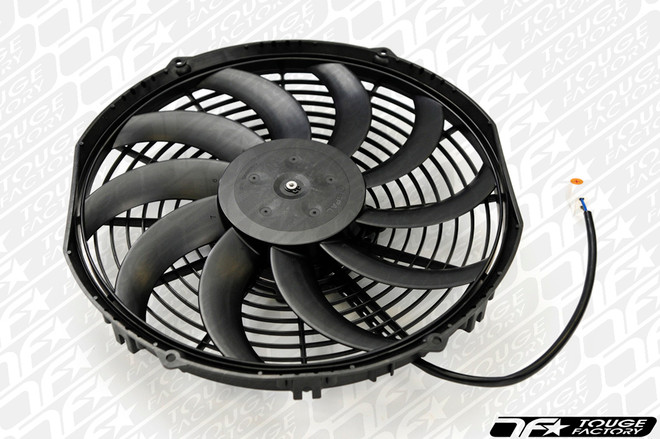SPAL 12in Low Profile - Puller / S Curved Blade Electric Radiator Fan - 909 CFM