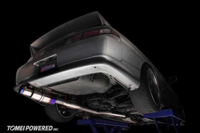 Tomei Expreme Ti Titanium Exhaust - Nissan S14