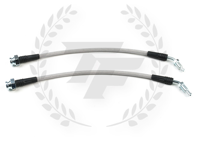 P2M Stainless Steel Braided Front Z32 Conversion Brake Lines Set Silvia 240sx