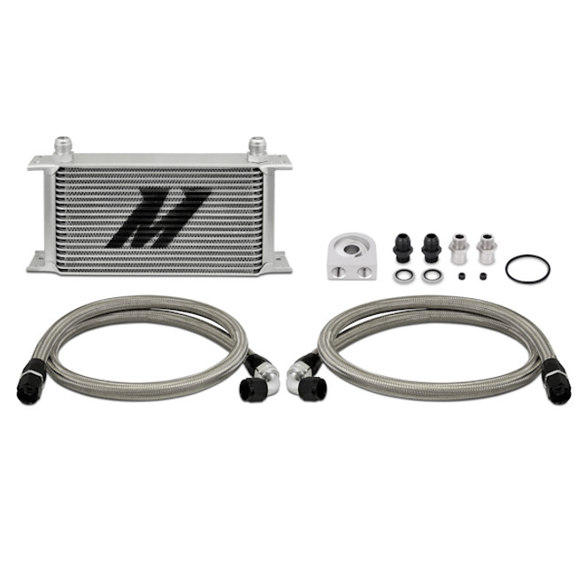 Mishimoto Universal Oil Cooler Kit, 19 Row