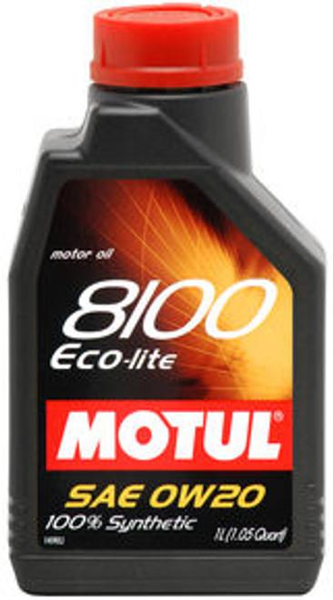 Motul 8100 Eco-Lite 0w20 100% Synthetic Engine Oil
