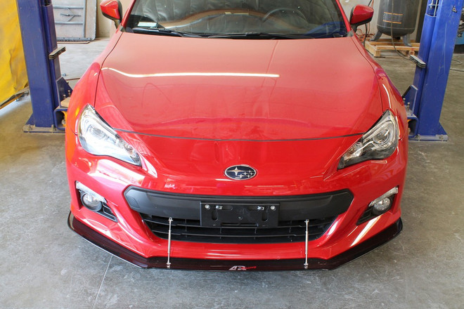 APR Carbon Fiber Front Wind Splitter Scion FR-S