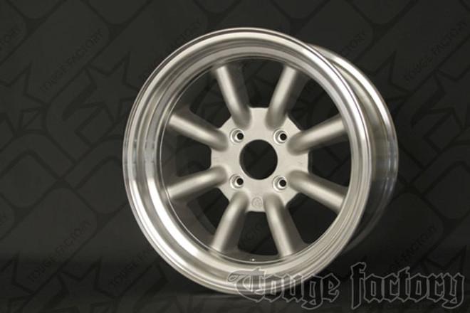 RS Watanabe R-Type Aluminum Racing Wheels 16x8 +0