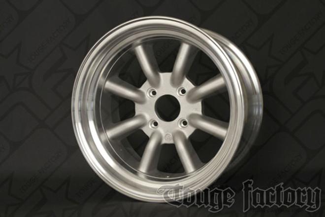RS Watanabe R-Type Aluminum Racing Wheels 16x8.5 -6