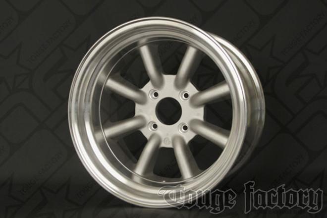 RS Watanabe R-Type Aluminum Racing Wheels 16x9 -13