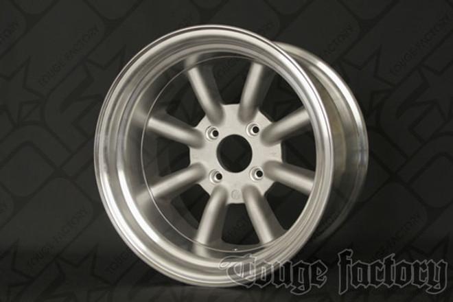 RS Watanabe R-Type Aluminum Racing Wheels 16x9.5 -19