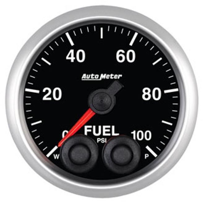 Auto Meter Elite Fuel Pressure Gauge 52mm 0-100 PSI