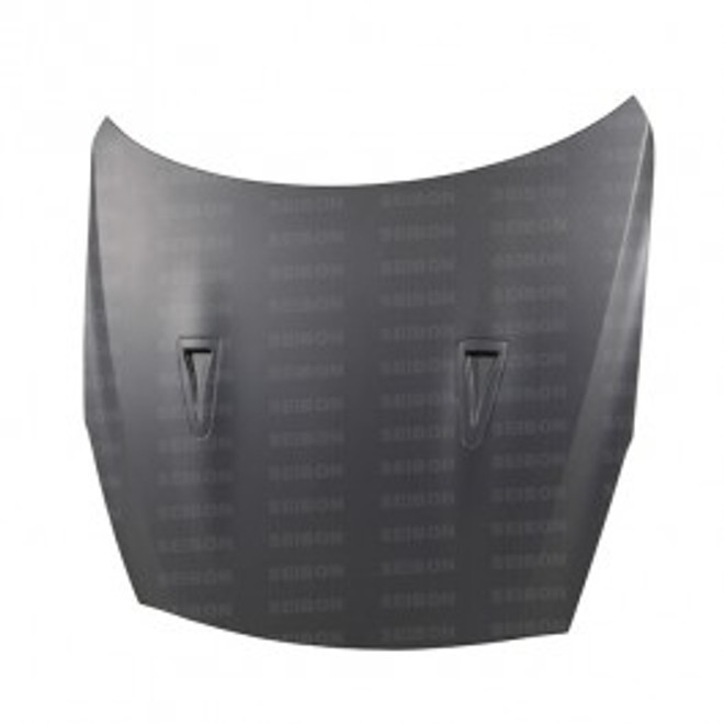 OEM-style DRY CARBON hood for 2009-2012 Nissan GTR..*ALL DRY CARBON PRODUCTS ARE MATTE FINISH!