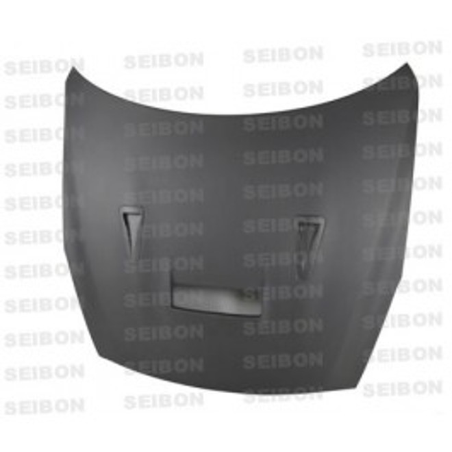 Seibon VSII-style DRY CARBON hood for 2009-2012 Nissan GTR..*ALL DRY CARBON PRODUCTS ARE MATTE FINISH!