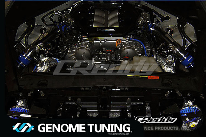 GReddy Suction Kit for Nissan Skyline GTR ('09+) - Long