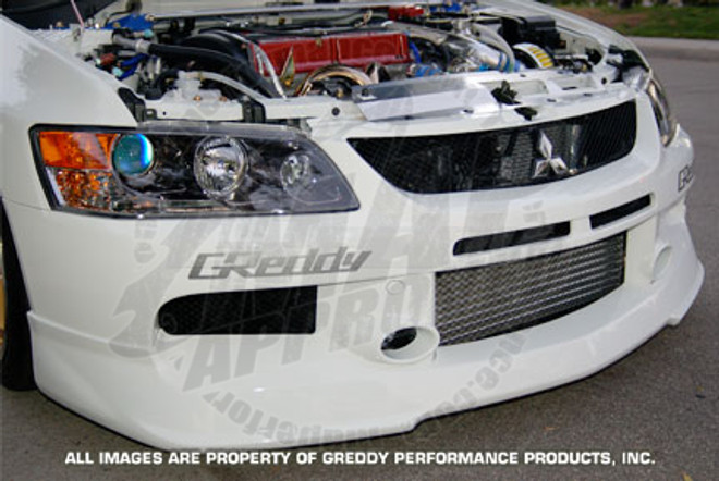 GReddy Front Lip Spoiler for Mitsubishi Evo 9