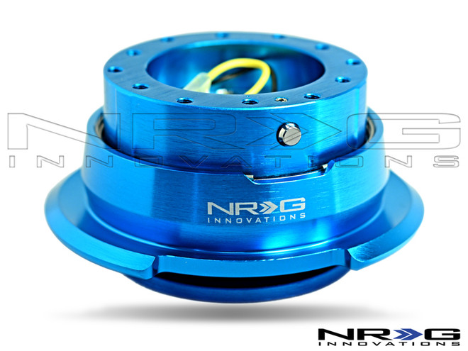 NRG Quick Release Kit Gen 2.8 (New Blue Body w/ Diamond Cut Ring)