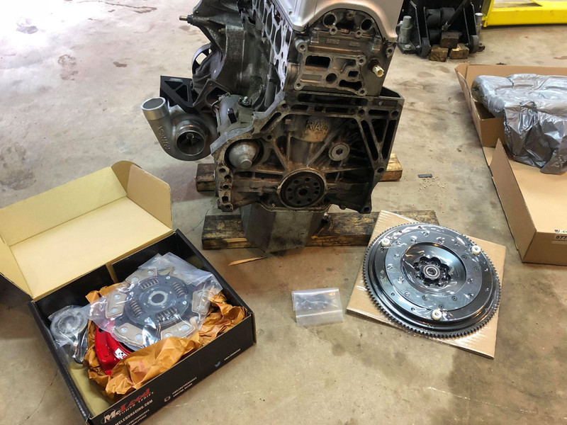 McLeod Clutch on a Supercharged K24 S2000