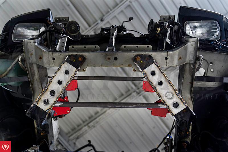 TF S13 K-Swap Build 240sx - Front Power Brace