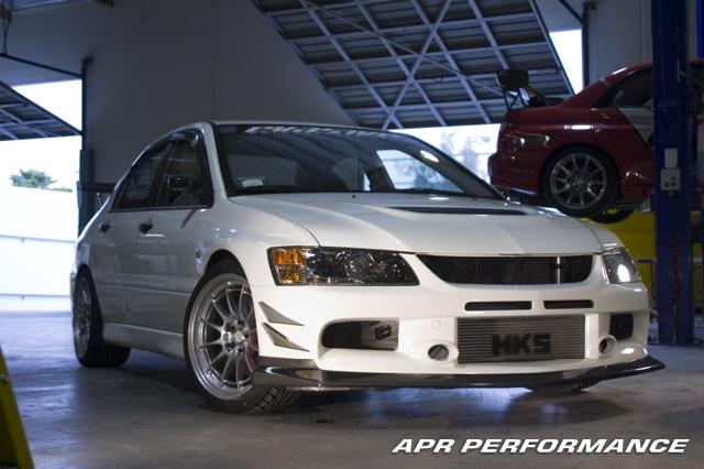 APR Carbon Fiber Mitsubishi Evolution Evo 9 Front Lip