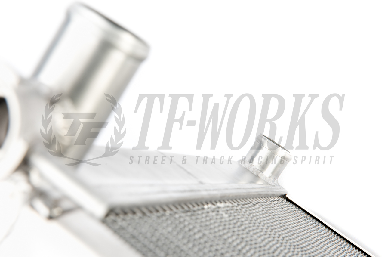 Koyo Aluminum Racing Radiator N-FLO Dual Pass S13/S14 V8 Swap & KA24E/DE  Turbo