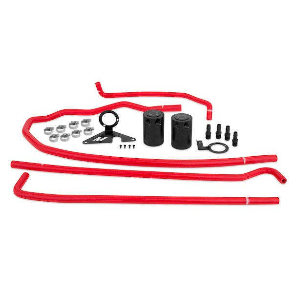 MISHIMOTO BAFFLED OIL CATCH CAN SYSTEM - 2015-2018 WRX on