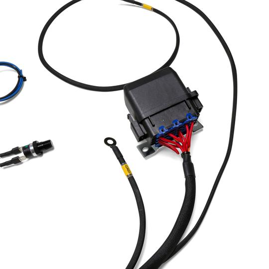 chase bays dual fan relay wiring harness 180º f thermoswitch chase bays dual fan relay wiring harness 180º f thermoswitch