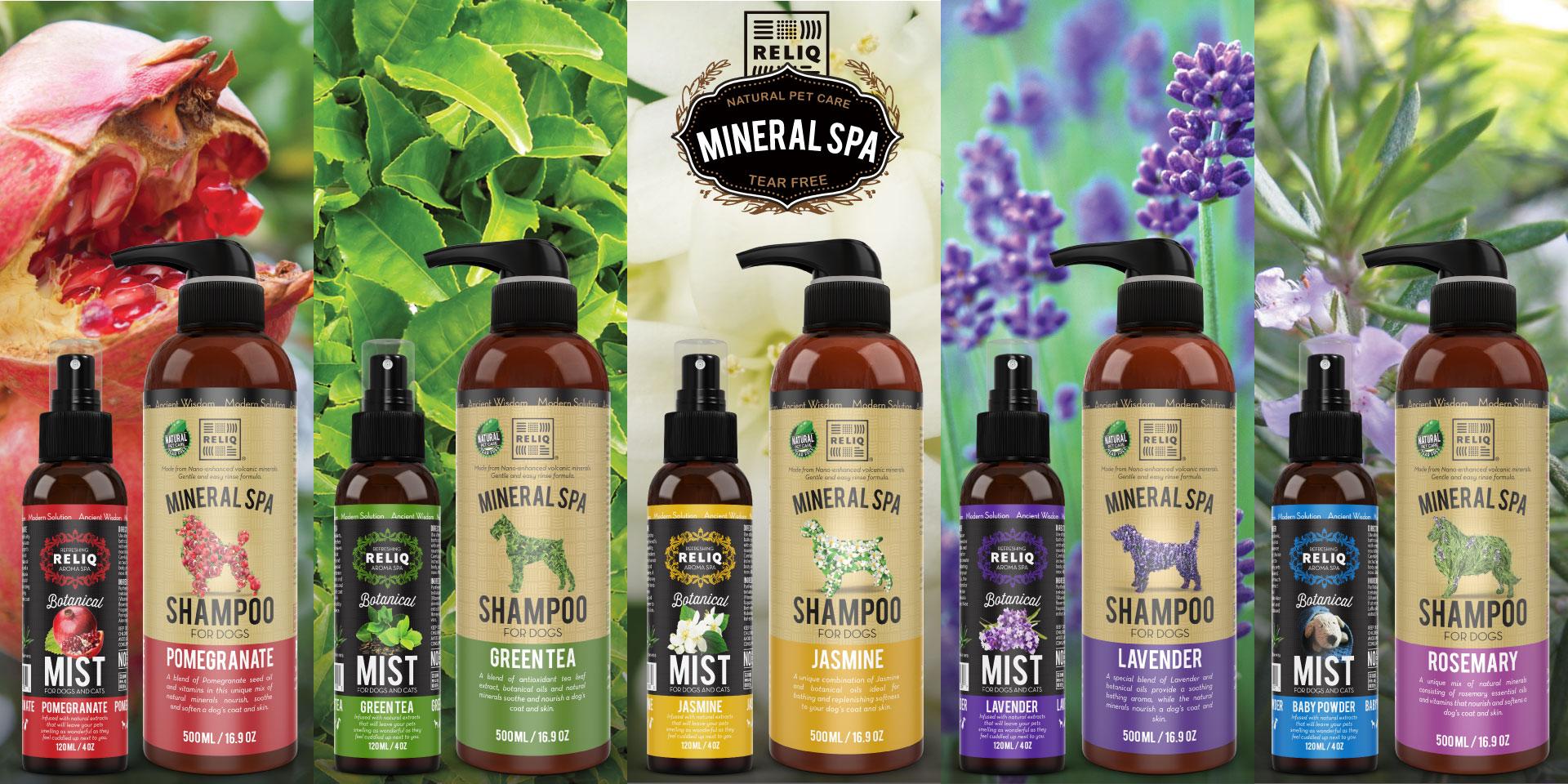 RELIQ mineral spa shampoo