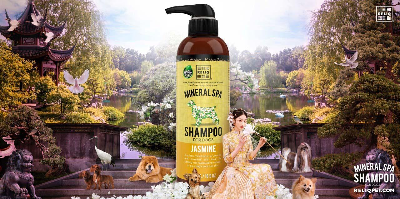 RELIQ Jasmine mineral spa shampoo