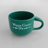 20oz-CoffeeCup GREEN - FRONT