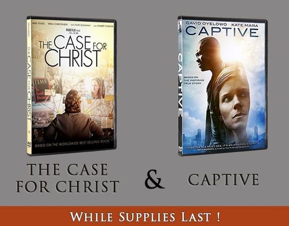 The Case for Christ / Captive DVD - Bundle