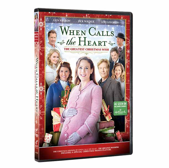 The Greatest Christmas Wish  (S6 - DVD 1  - Xmas Edition) -  Front cover with spine