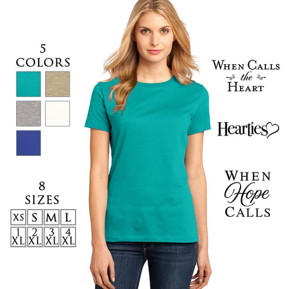 SHIRT-DM104L - with the choices of logos, color and size