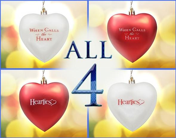 All 4 WCTH Ornaments - BUNDLE