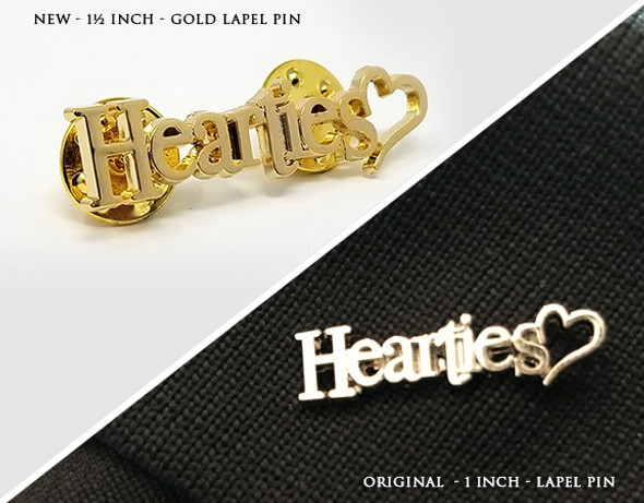 Hearties Lapel Pin - COMBO