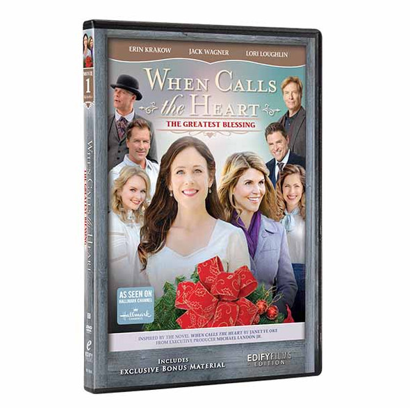 The Greatest Blessing  (S6 - DVD 1) - Front Cover and Spine