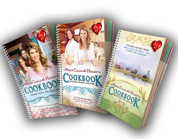 Cookbooks Vol 1-3 Collection