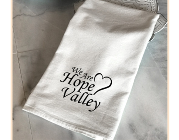 Tea Towel - We are Hope Valley / I'd Rather be in Hope Valley