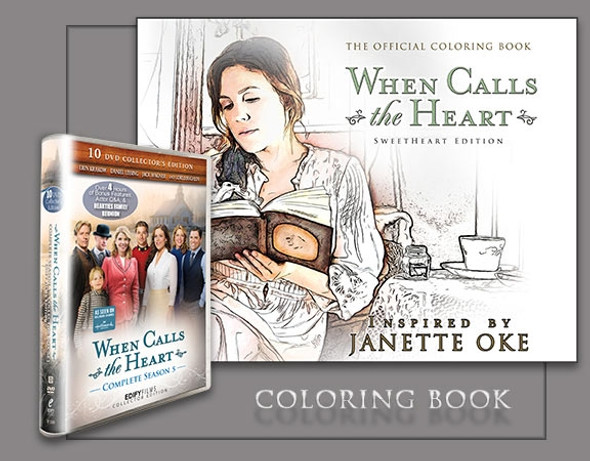 WCTH - Season 5 Box Set and Coloring Book - Bundle