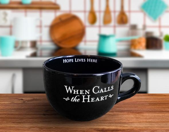 20oz. BLACK - Large Coffee Cup - WCTH