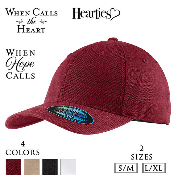 Flexfit® Garment Washed Cap with three optional When Calls the Heart Logos