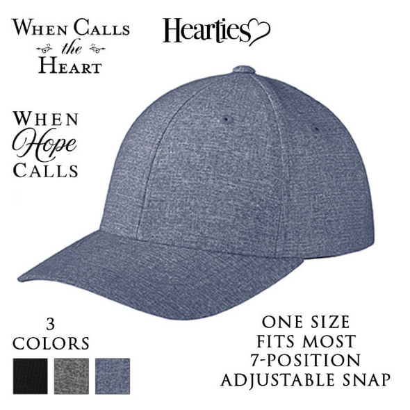 Flexfit 110 ® Performance Snapback Cap with 3 optional When Calls the Heart Logos